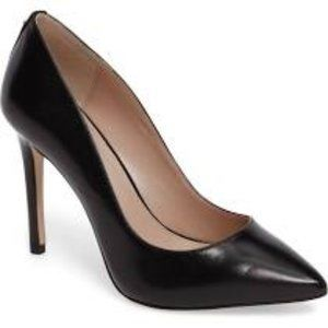 BCBGeneration Heidi Smooth Pointed-Toe Pumps